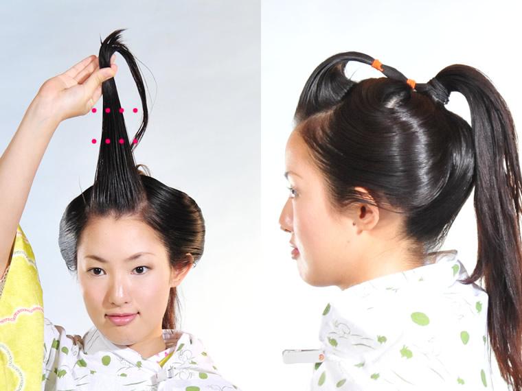 時代 髪型 江戸 女性