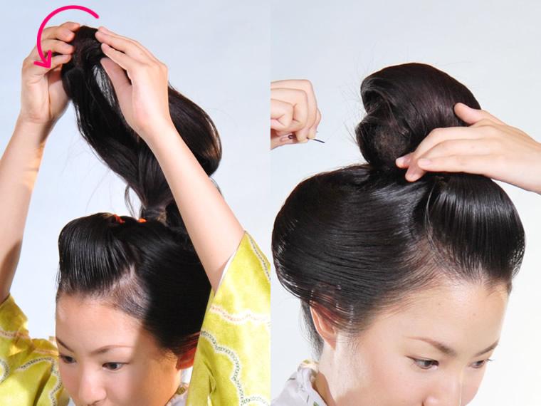 日本髪の結い方 比較 高崎マザーバのブログ